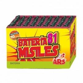 Batería 100 misiles